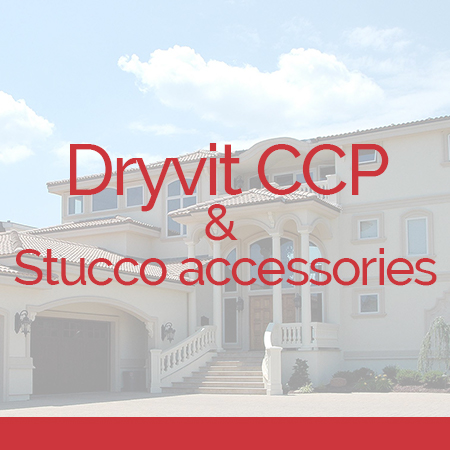 Dryvit CCP and stucco Accessories over top dryvit stucco project